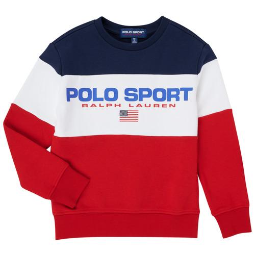 Clothing Boy Sweaters Polo Ralph Lauren TRINITA Multicolour