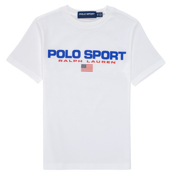 Clothing Boy Short-sleeved t-shirts Polo Ralph Lauren DRONI White