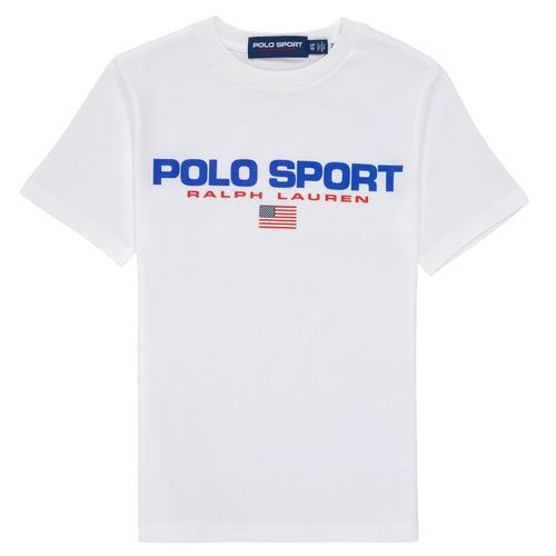 Clothing Boy Short-sleeved t-shirts Polo Ralph Lauren DRONI White