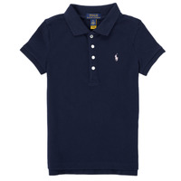 Clothing Girl Short-sleeved polo shirts Polo Ralph Lauren BLANCA Marine
