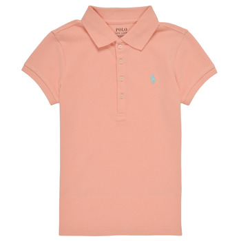 Clothing Girl Short-sleeved polo shirts Polo Ralph Lauren DEVALA Pink