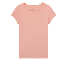 Clothing Girl Short-sleeved t-shirts Polo Ralph Lauren ROBBA Pink