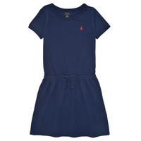 Clothing Girl Short Dresses Polo Ralph Lauren FRICHI Marine