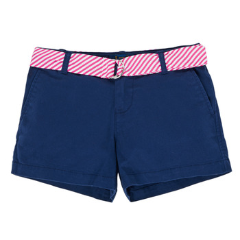 Clothing Girl Shorts / Bermudas Polo Ralph Lauren FILLI Marine