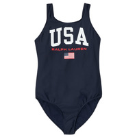 Clothing Girl Swimsuits Polo Ralph Lauren EVE Marine