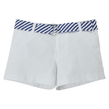 Clothing Girl Shorts / Bermudas Polo Ralph Lauren FILLI White