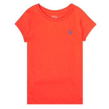 Clothing Girl Short-sleeved t-shirts Polo Ralph Lauren SIDONIE Red