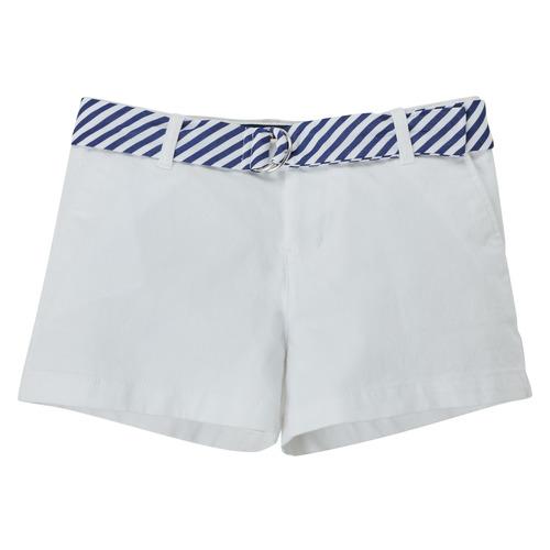 Clothing Girl Shorts / Bermudas Polo Ralph Lauren FILLI White