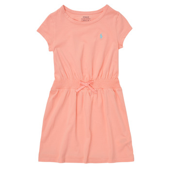 Clothing Girl Short Dresses Polo Ralph Lauren FROLLI Pink