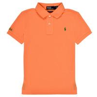 Clothing Boy Short-sleeved polo shirts Polo Ralph Lauren POLLIE Orange