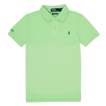 Clothing Boy Short-sleeved polo shirts Polo Ralph Lauren DANNI Green