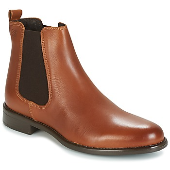 Shoes Women Mid boots Betty London NORMANDIA Camel