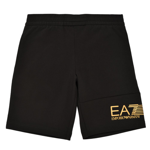 Clothing Boy Shorts / Bermudas Emporio Armani EA7 3KBS53-BJ05Z-1200 Black / Gold