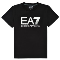 Clothing Boy Short-sleeved t-shirts Emporio Armani EA7 3KBT53-BJ02Z-1200 Black