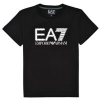 Clothing Boy Short-sleeved t-shirts Emporio Armani EA7 3KBT53-BJ02Z-1200 Black