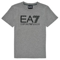 Clothing Boy Short-sleeved t-shirts Emporio Armani EA7 3KBT53-BJ02Z-3905 Grey