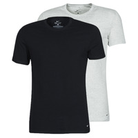 Clothing Men Short-sleeved t-shirts Nike SS CREW NECK X2 Black / Grey / Black