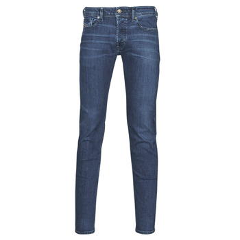 Clothing Men Skinny jeans Diesel SLEENKER Blue / Dark