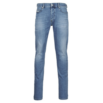 Clothing Men Slim jeans Diesel D-LUSTER Blue / Clear