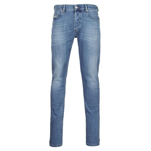 Clothing Men Slim jeans Diesel D-LUSTER Blue / Clear