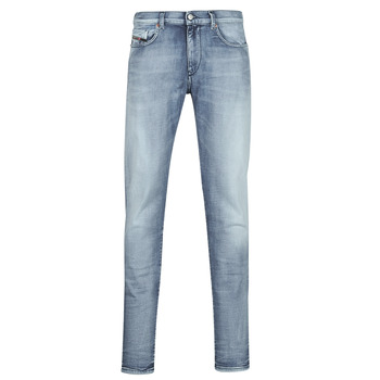 Clothing Men Slim jeans Diesel D-STRUKT Blue / Clear