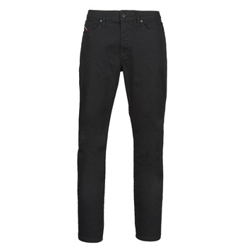 Clothing Men Straight jeans Diesel D-FINNING Black