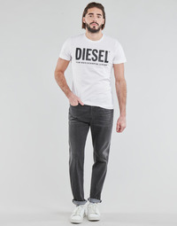 Clothing Men Straight jeans Diesel D-FINNING Grey