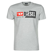 Clothing Men Short-sleeved t-shirts Diesel 00SDP1-0091A-912 Grey