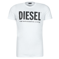 Clothing Men Short-sleeved t-shirts Diesel 00SXED-0AAXJ-100 White