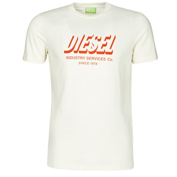 Clothing Men Short-sleeved t-shirts Diesel A01849-0GRAM-129 White