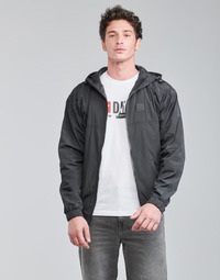 Clothing Men Jackets Diesel A00103-0LAPH-900 Black