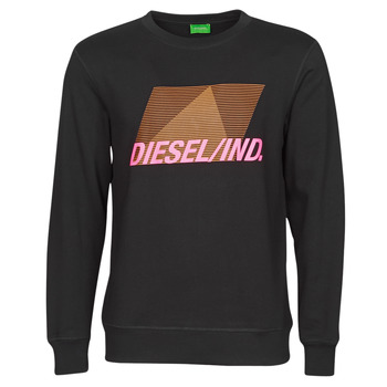 Clothing Men Sweaters Diesel 00S0ER-0BDAM-900 Black