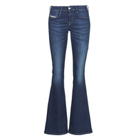 Clothing Women Bootcut jeans Diesel D-EBBEY Blue / Dark