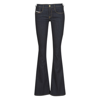 Clothing Women Bootcut jeans Diesel D-EBBEY Blue / Raw