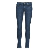 Clothing Women Skinny jeans Diesel SLANDY-LOW Blue / Medium