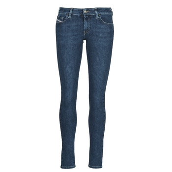 Clothing Women Skinny jeans Diesel SLANDY-LOW Blue / Medium