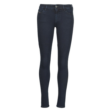 Clothing Women Skinny jeans Diesel SLANDY Blue / Dark