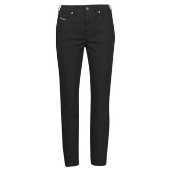 Clothing Women Straight jeans Diesel D-JOY Black