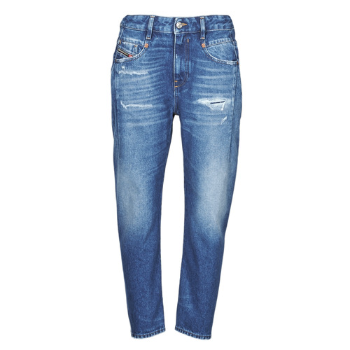 Clothing Women Boyfriend jeans Diesel D-FAYZA Blue / Medium