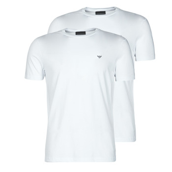 Clothing Men Short-sleeved t-shirts Emporio Armani 8N1D61-1JNQZ White