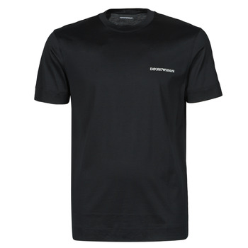 Clothing Men Short-sleeved t-shirts Emporio Armani 3K1TF3-1JUVZ Black