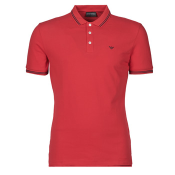 Clothing Men Short-sleeved polo shirts Emporio Armani 8N1F30-1JPTZ Red