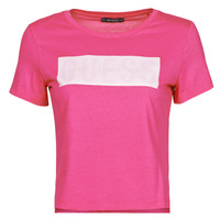 Clothing Women Short-sleeved t-shirts Guess SS CN ADRIA TEE Fuschia