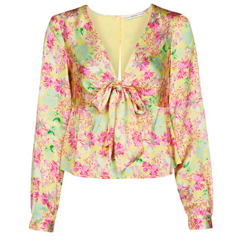 Clothing Women Tops / Blouses Guess NEW LS GWEN TOP Multicolour