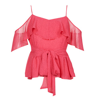 Clothing Women Tops / Blouses Guess SL PAULINA TOP Pink