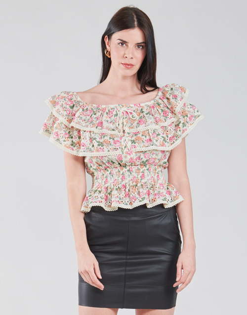 Clothing Women Tops / Blouses Guess SS NEW ISOTTA TOP Pink