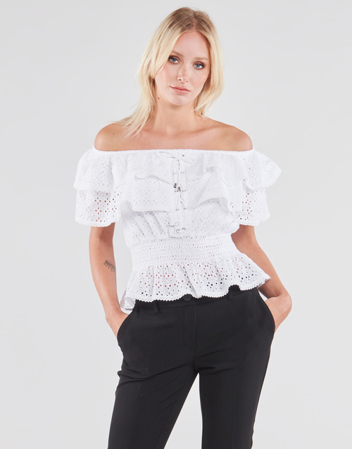 Clothing Women Tops / Blouses Guess SS NEW ISOTTA TOP White