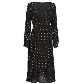 Clothing Women Long Dresses Guess NEW BAJA DRESS Black