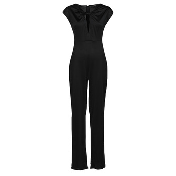 Clothing Women Jumpsuits / Dungarees Guess ROSANNA JUMPSUIT Black
