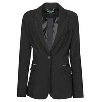 Clothing Women Jackets / Blazers Guess SELENE BLAZER Black